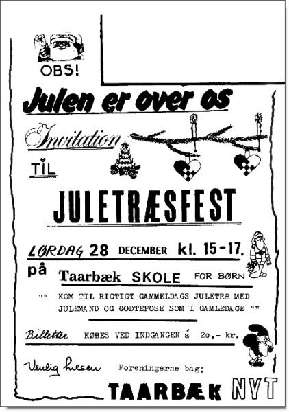 Eksempel på hvordan Taarbæk Nyt opsættes.