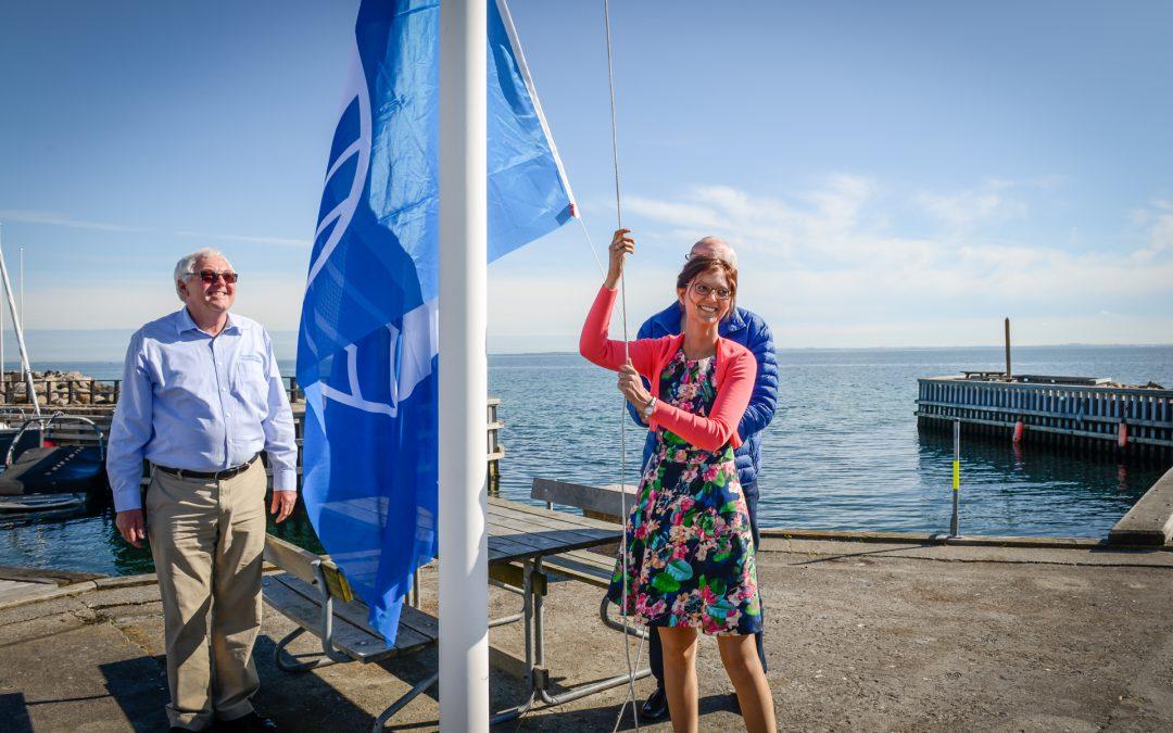 Taarbæk Havn fik igen et blåt flag
