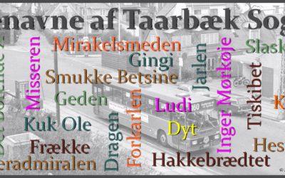 Bog om øgenavnene i Taarbæk
